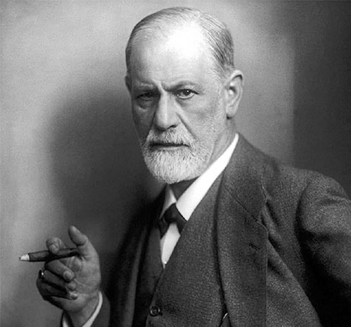 Sigmund Freud and Freud Hank