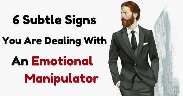 How to deal with an emotional manipulator
