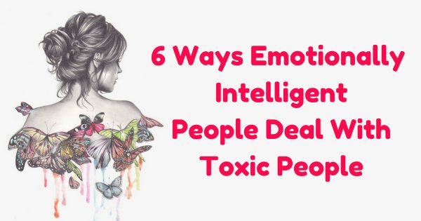 how to deal with a toxic person