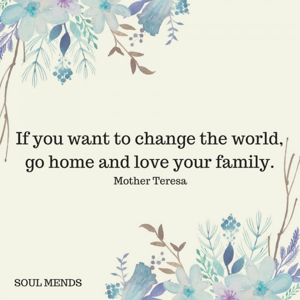 If You Want To Change The World Soul Mends