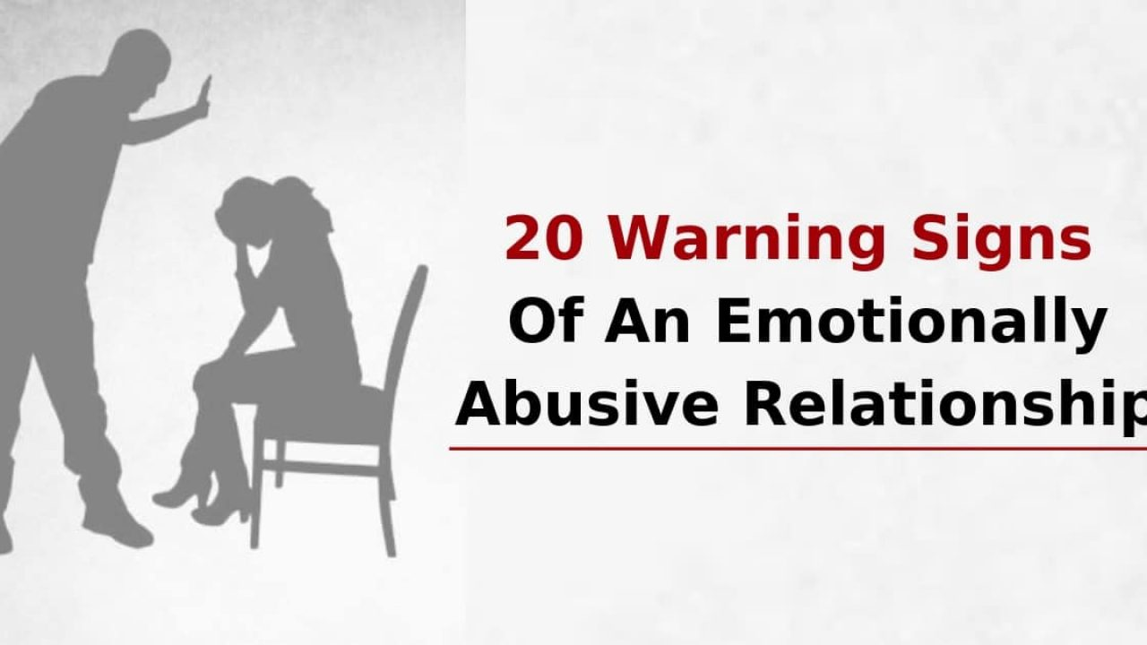 Boyfriend mentally abusive 23 Signs