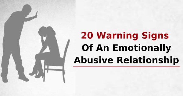 In relationships abuse signs psychological StrongHearts Native