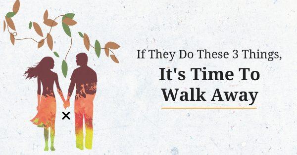 Time it when walk away to is When It's